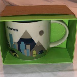 NIB Starbucks Denver YAH Mug